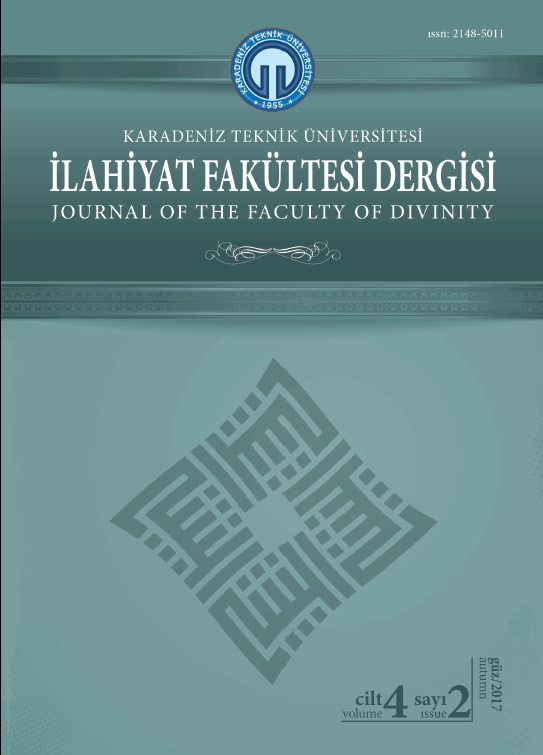 Trabzon Divinity Journal Cover Image