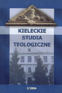 Kielce Theological Studies Cover Image