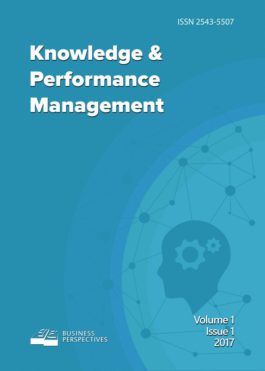 Knowledge and Performance Management Cover Image
