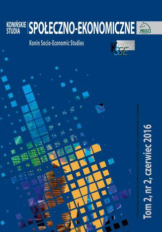 Konin Socio-Economic Studies Cover Image