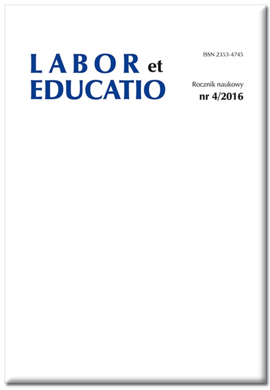 Labor et Educatio Cover Image