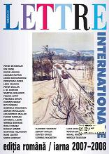 Lettre Internationale - Romanian Edition Cover Image