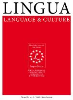 Lingua. Language and Culture