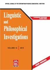 Linguistic and Philosophical Investigations Cover Image