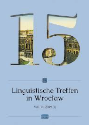 Linguistic Meetings in Wrocław Cover Image