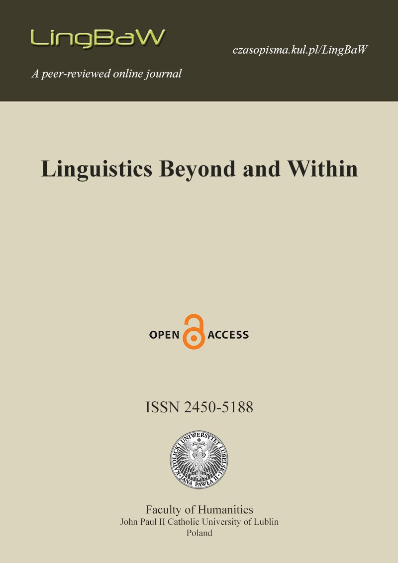 Linguistics Beyond and Within (LingBaW)