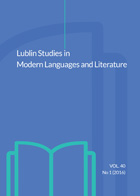 Lublin Studies in Modern Languages and Literature Cover Image