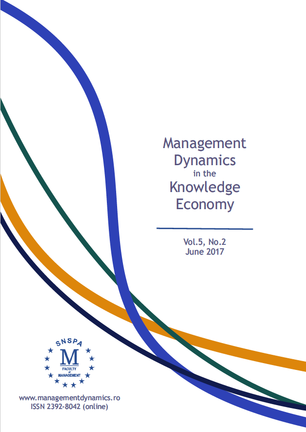 Management Dynamics in the Knowledge Economy Cover Image