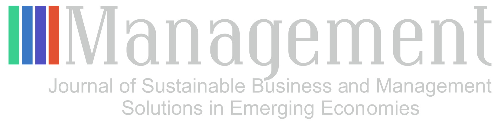 Management: Journal of Sustainable Business and Management Solutions in Emerging Economies Cover Image