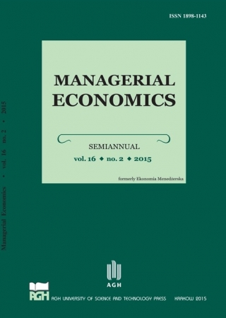 Managerial Economics Cover Image