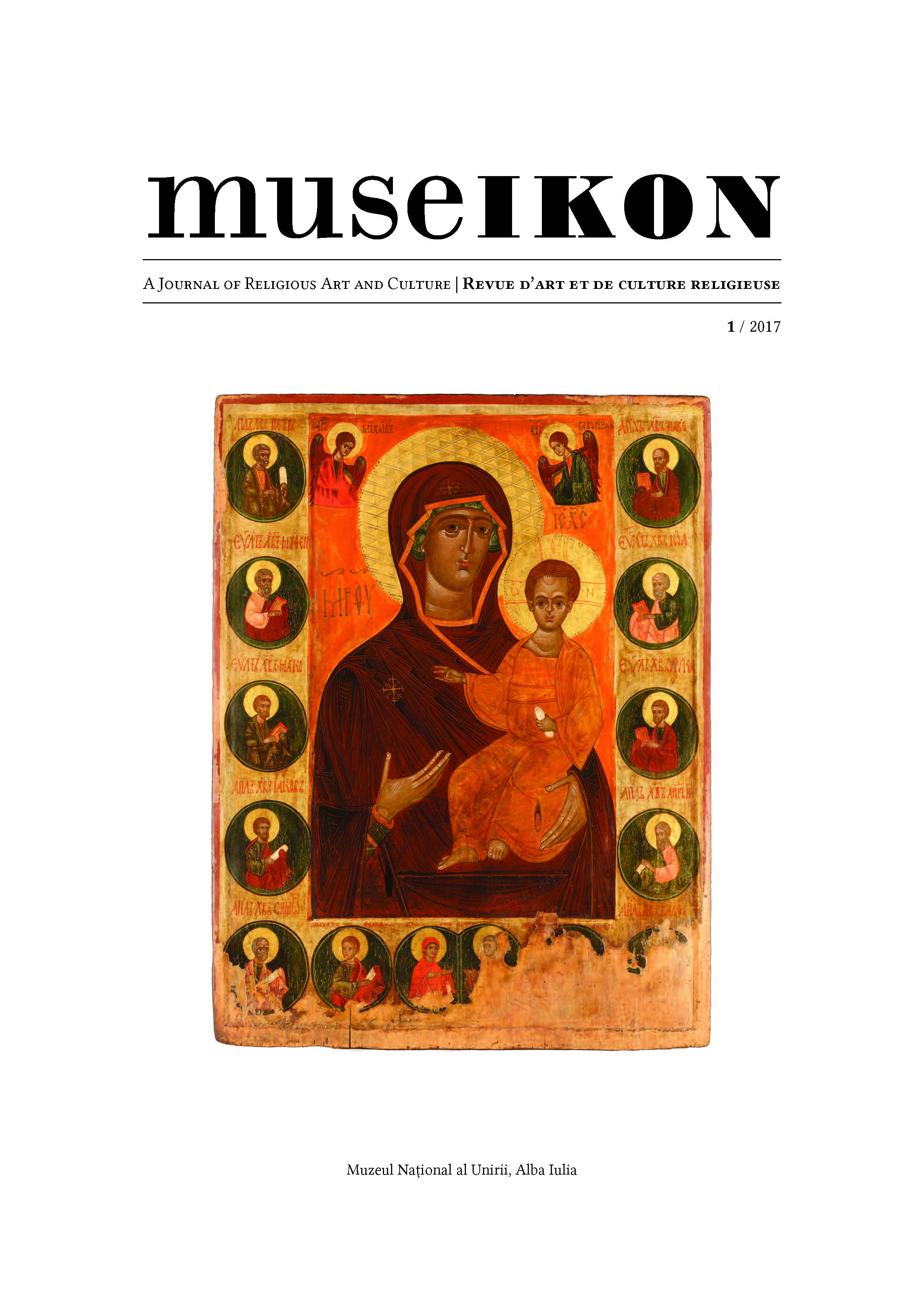 Museikon. A Journal of Religious Art and Culture / Revue d'art et de culture religieuse