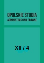 Opole Legal and Administrative Studies Cover Image