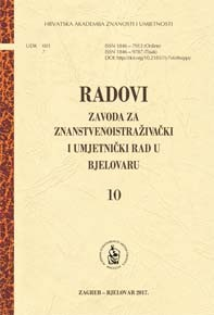 Papers of the Institute for Scientific Research and Artistic Work in Bjelovar Cover Image