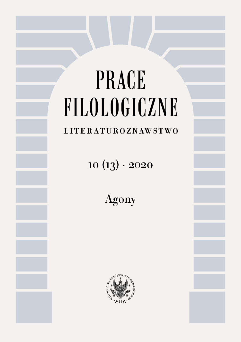 Philological Studies. Literary Research Cover Image