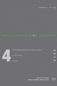 Philosophy and Society Cover Image