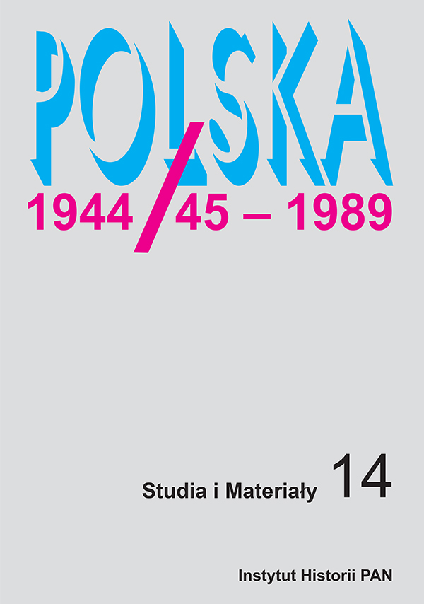 Poland 1944/45 - 1989 Cover Image