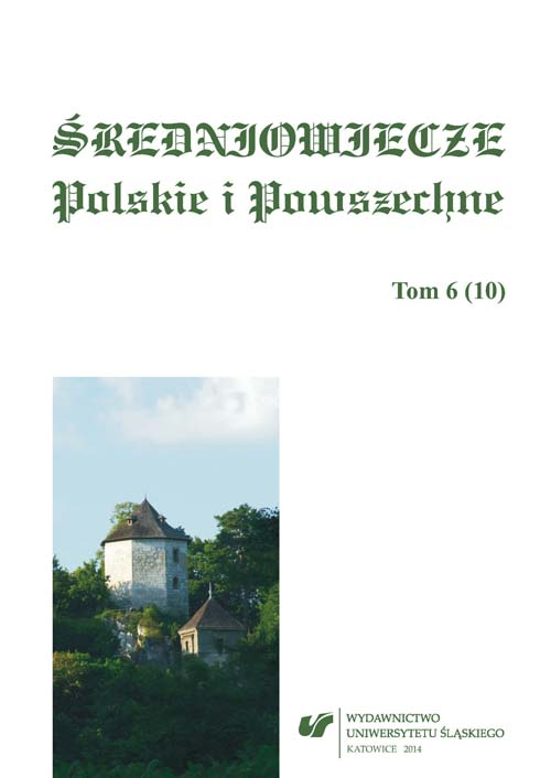 Polish and General History of the Middle Ages Cover Image