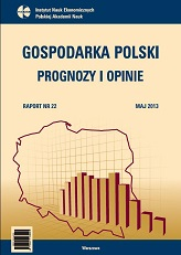 Polish Economy - Forecasts and Opinions Cover Image