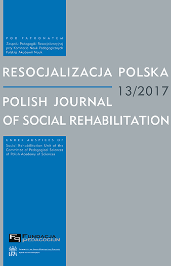 Polish Journal of Social Rehabilitation Cover Image