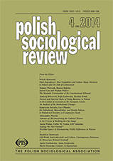 Polish Sociological Review