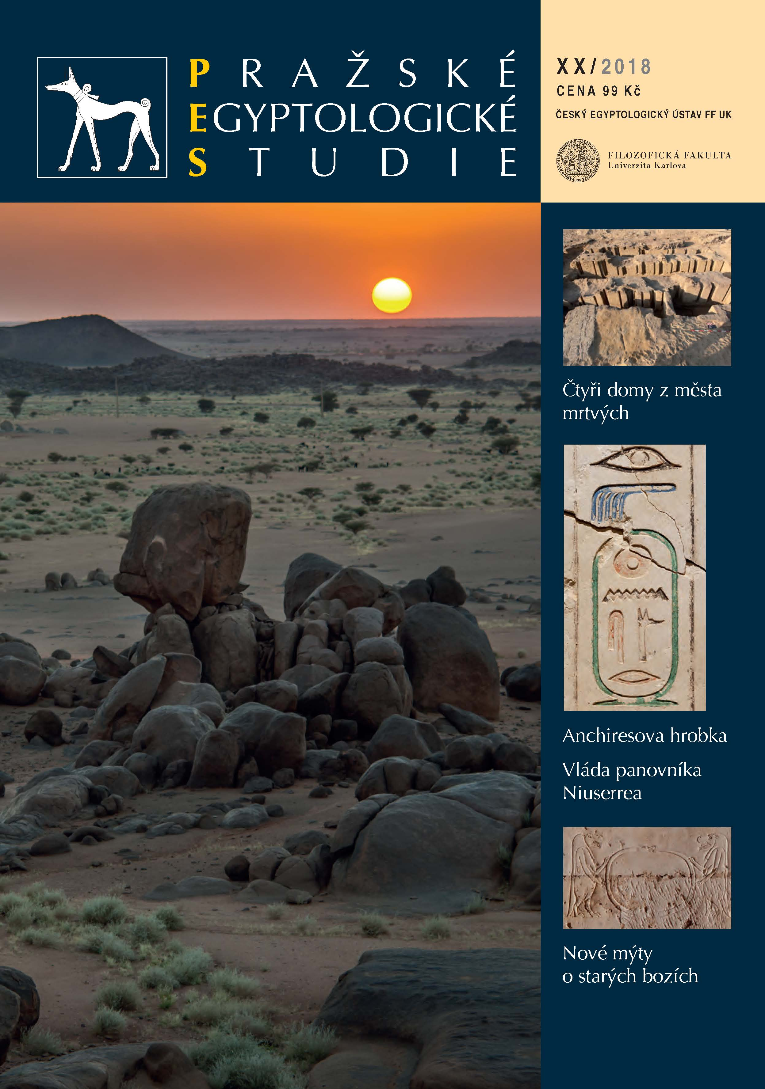 Prague Egyptological Studies Cover Image