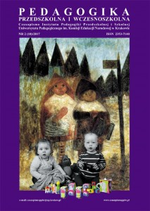 Pre-School and Early School Education Cover Image