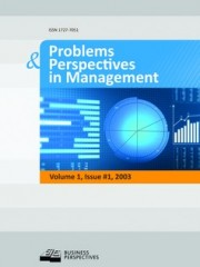 Problems and Perspectives in Management Cover Image