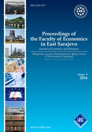 Proceedings of the Faculty of Economics in East Sarajevo  Cover Image
