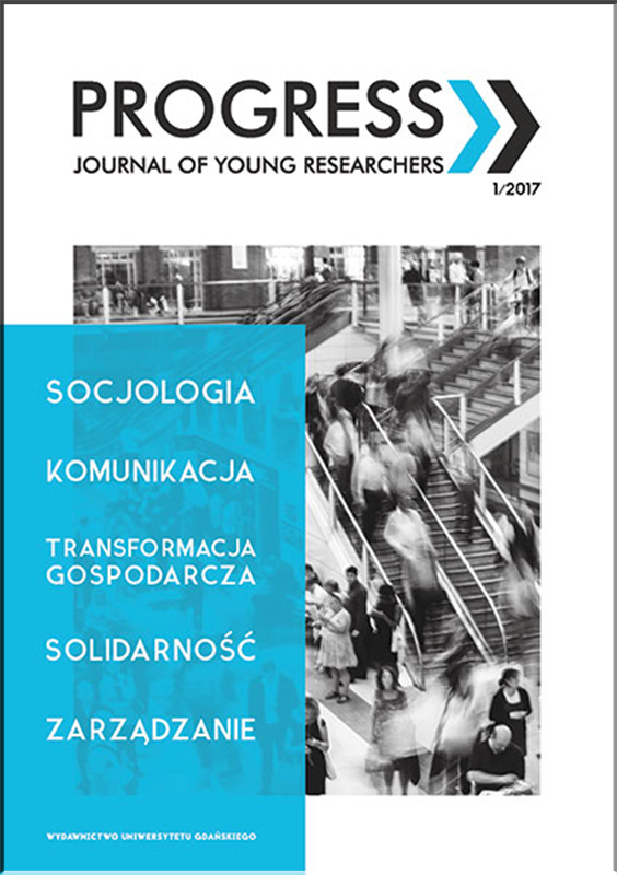 Progress. Journal of young researchers Cover Image