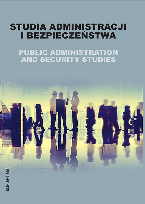 Public Administration and Security Studies Cover Image