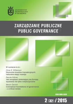 Public Governance Cover Image