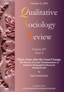 Qualitative Sociology Review Cover Image