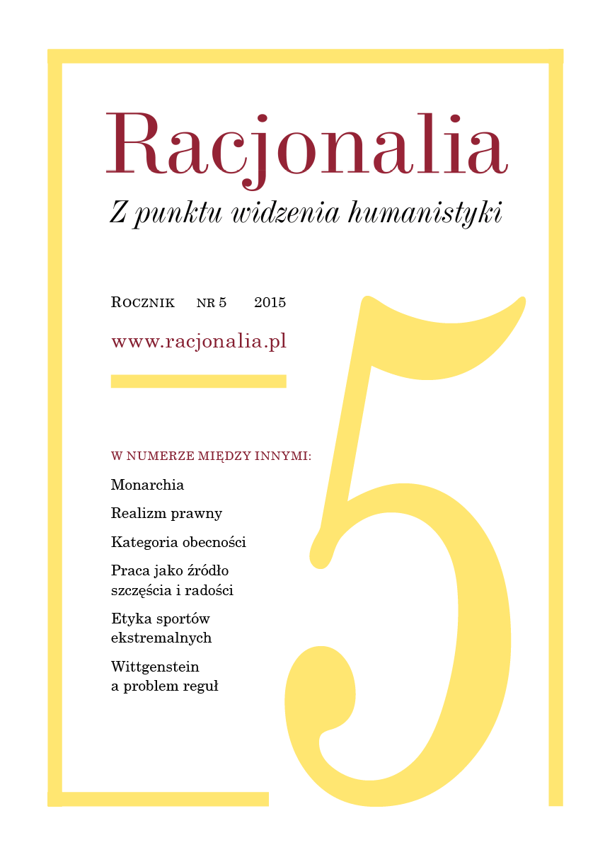 Racjonalia: From the Point of View of the Humanities Cover Image