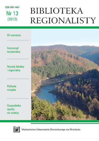 Regional Journal Cover Image