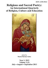 Religious and Sacred Poetry: An International Quarterly of Religion, Culture and Education Cover Image