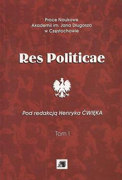 Res Politicae Cover Image
