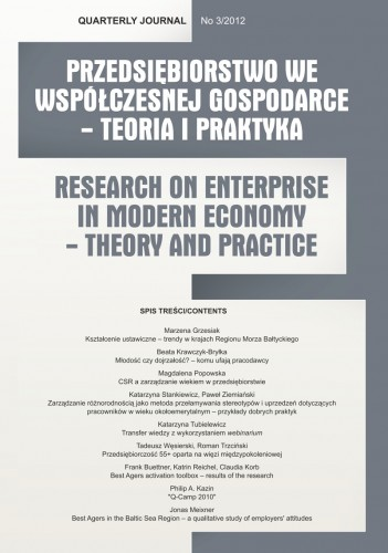 Research on Enterprise in Modern Economy – Theory and Practice Cover Image