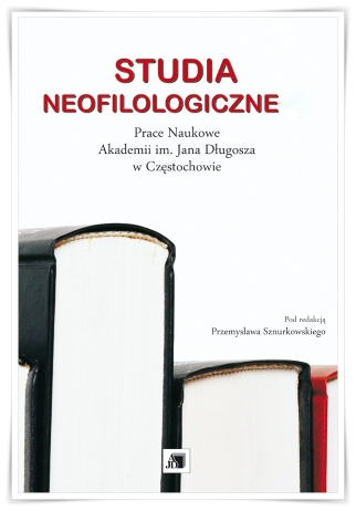 Research Papers of the Jan Długosz University of Częstochowa. Neophilological Studies Cover Image