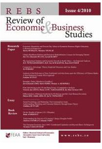Review of Economic and Business Studies (REBS) Cover Image