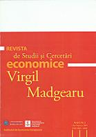 Review of Economic Studies and Research Virgil Madgearu Cover Image