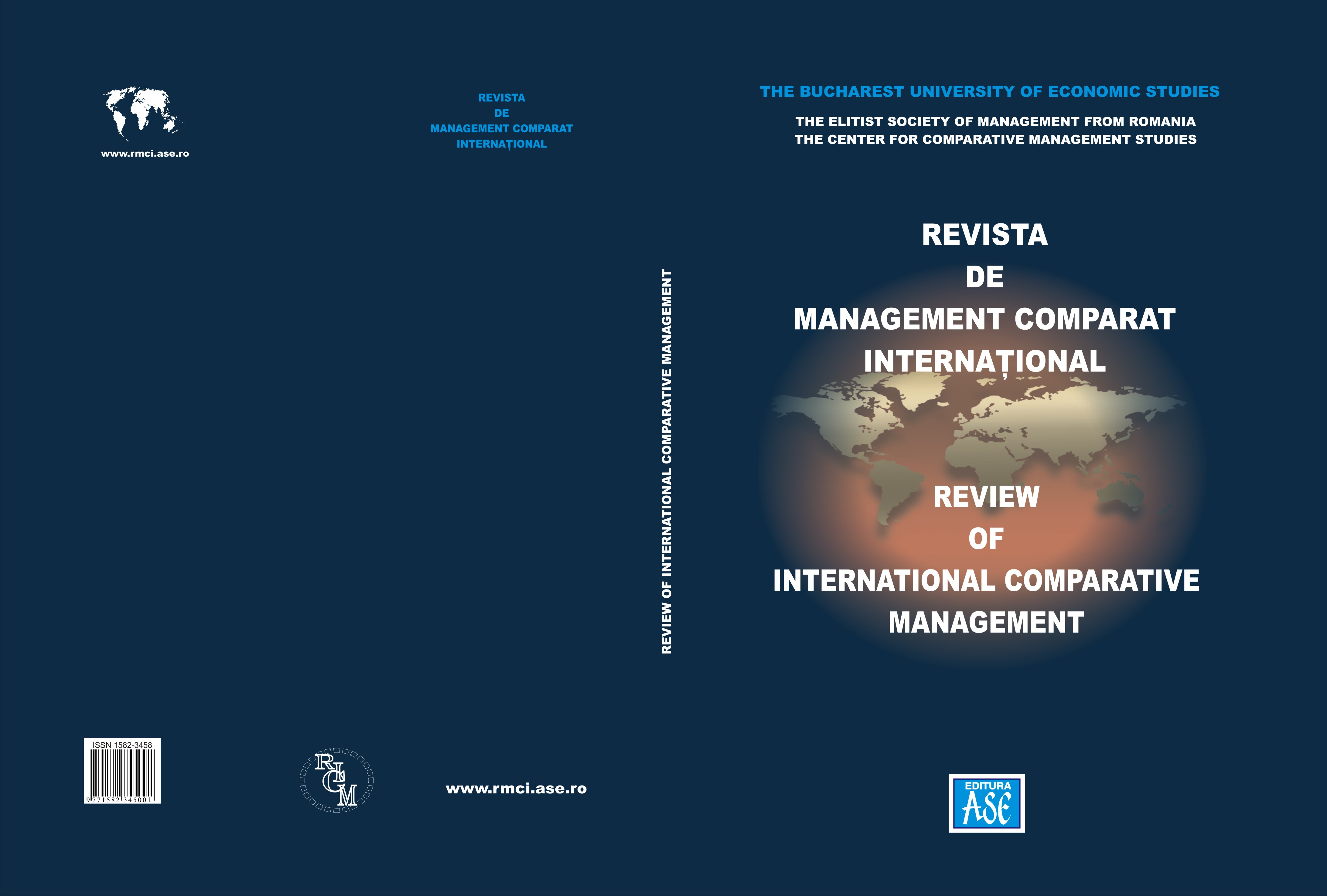 Review of International Comparative Management Cover Image
