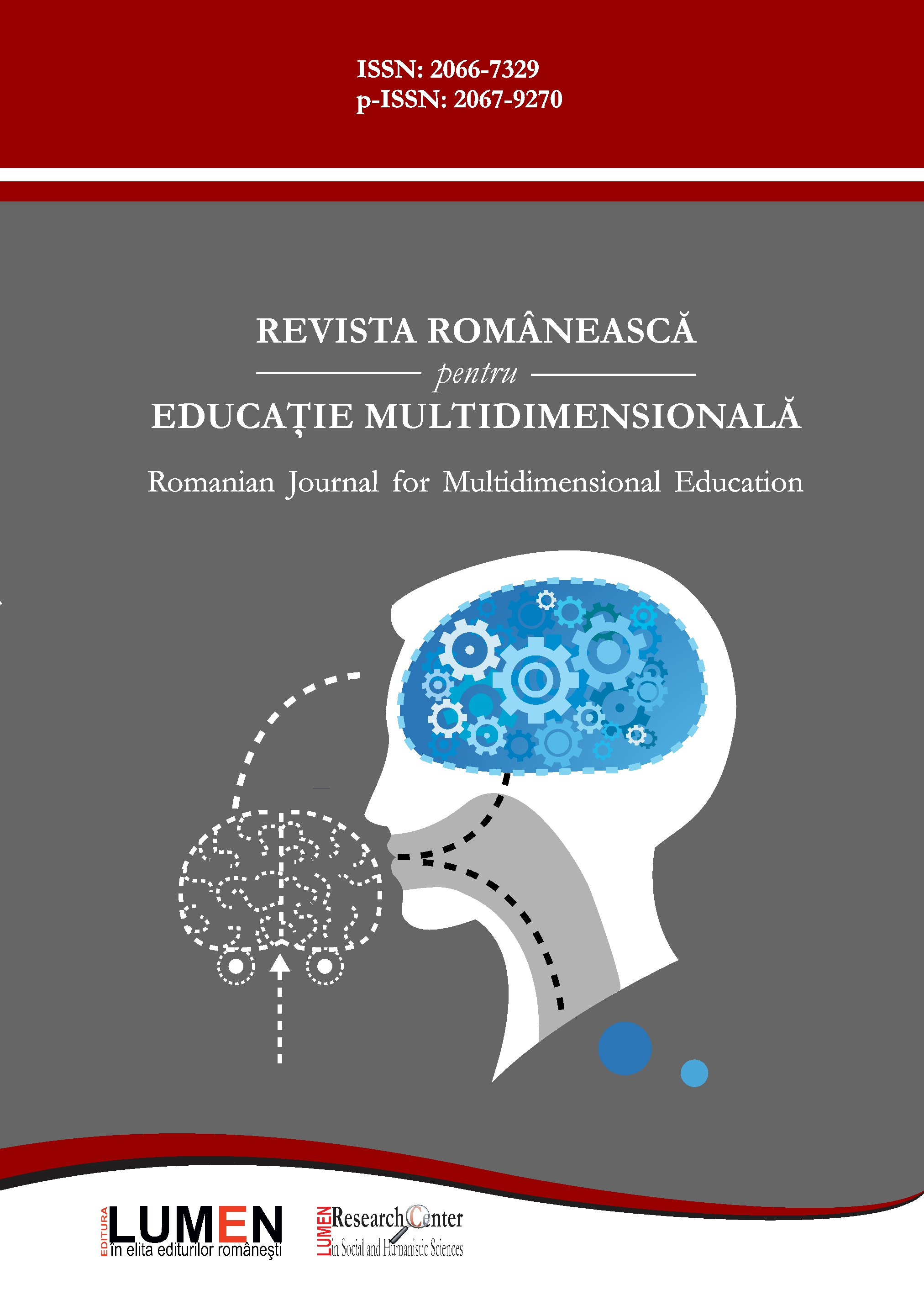 Romanian Journal for Multidimensional Education Cover Image