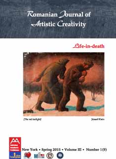 Romanian Journal of Artistic Creativity Cover Image