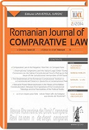 Romanian Journal of Comparative Law Cover Image