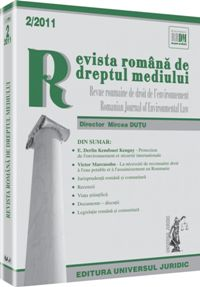 Romanian Journal of Environmental Law Cover Image