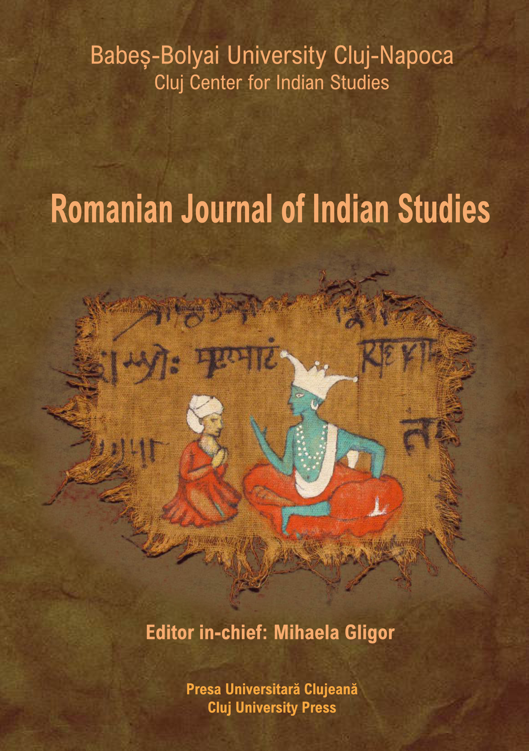ROMANIAN JOURNAL OF INDIAN STUDIES Cover Image