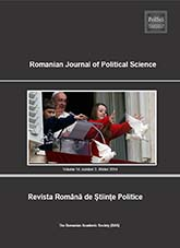 Romanian Journal of Political Sciences Cover Image