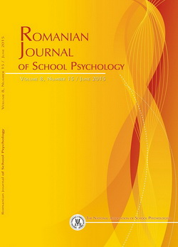 Romanian Journal of School Psychology