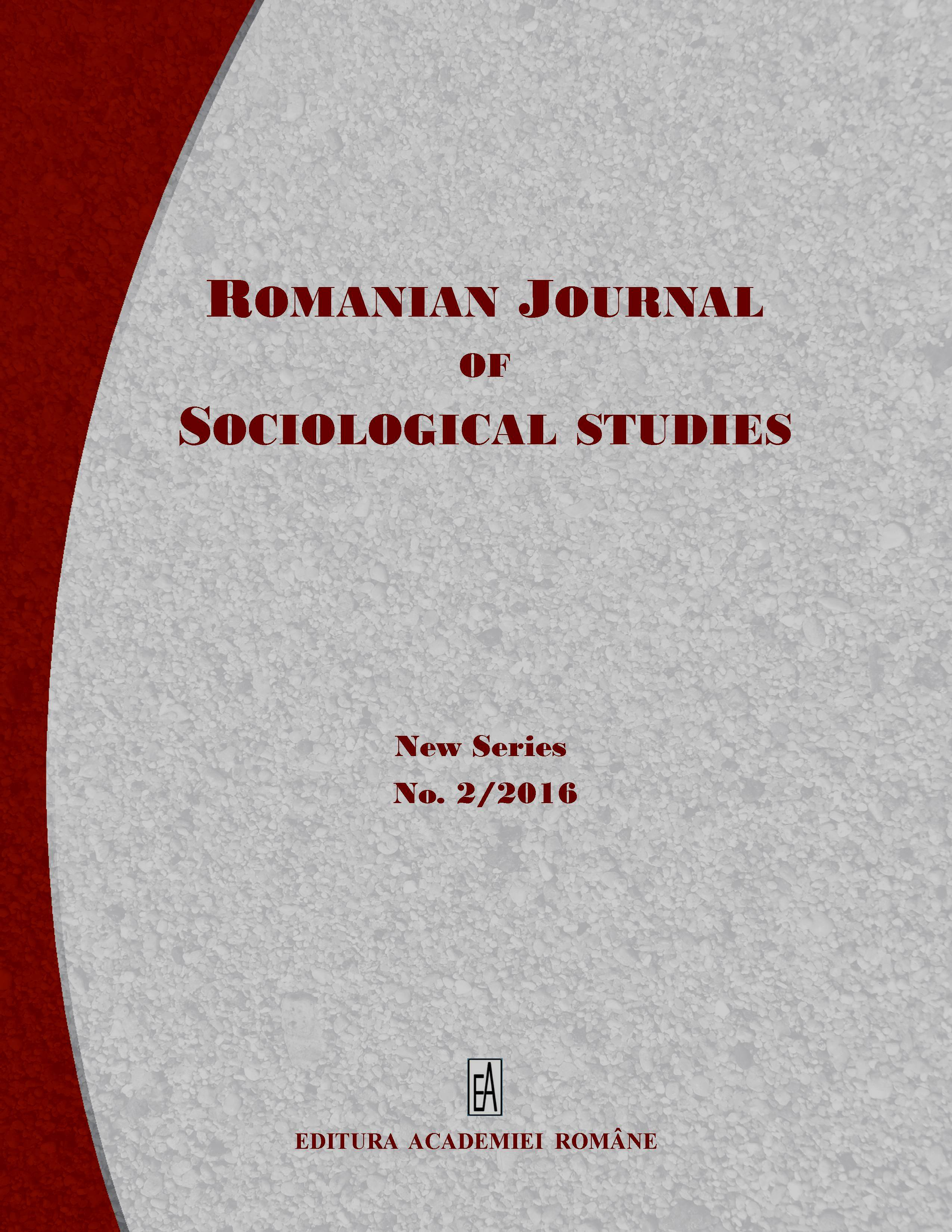 Romanian Journal of Sociological Studies Cover Image