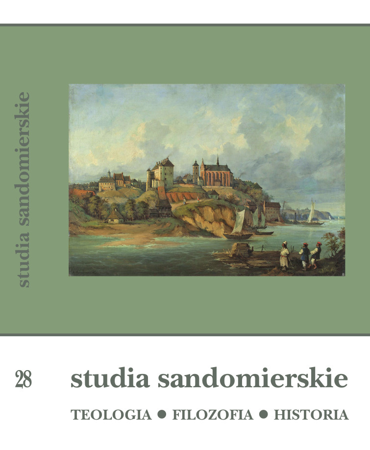 Sandomierz Studies. Theology-Philosophy-History Cover Image